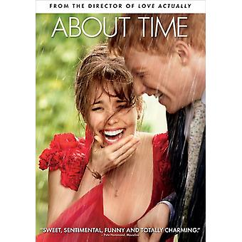About Time [DVD] USA import