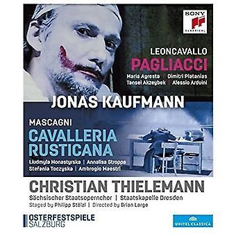 Jonas Kaufmann - Pietro Mascagni: Importación de Estados Unidos Cavaelleria Rusticana [Blu-ray]