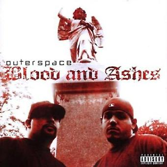 Outerspace - blod & aske [CD] USA import