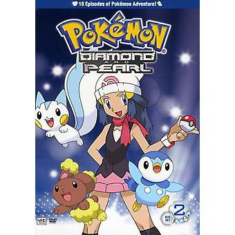 Pokemon Diamond & Pearl : Vol. 3-4 [DVD] USA import