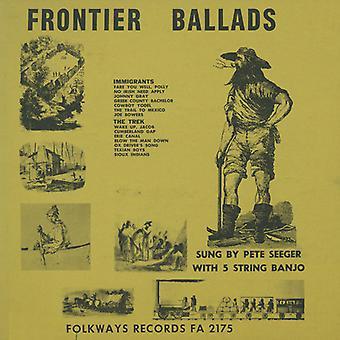 Pete Seeger - Frontier Ballads [CD] USA import