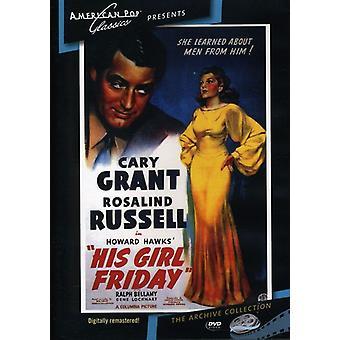 Su muchacha viernes (1940) importar de Estados Unidos [DVD]