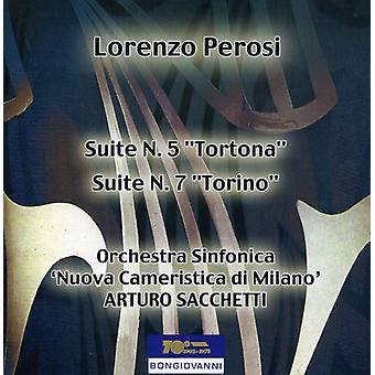 L. Perosi - Lorenzo Perosi: Suite No. 5 'Tortona'; Suite No. 7 'Torino' [CD] USA import
