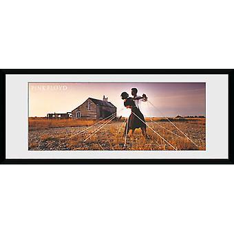 Pink Floyd tancerzy oprawione Collector Print
