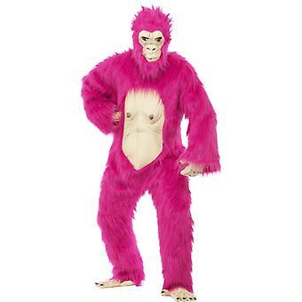 Gorilla costume neon pink Gorilla monkey Jack ACE costume