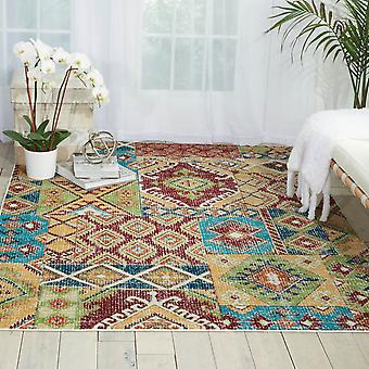 Aria Rugs Ar018 By Nourison In Sunset
