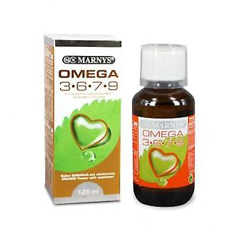 Marny's Omega 3-6-7-9 125ml. (Vitamins & supplements , Omegas & fatty acids)