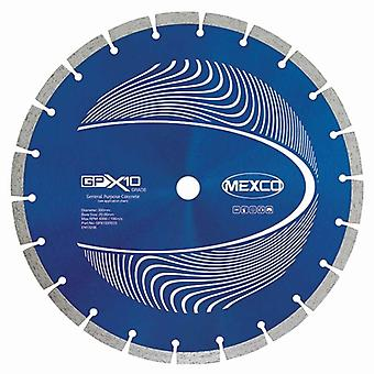 MEXCO 125Mm calcestruzzo X10 Grade Diamond Blade