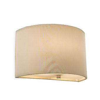 Firstlight Modern Cream Half Wall Sconce Light