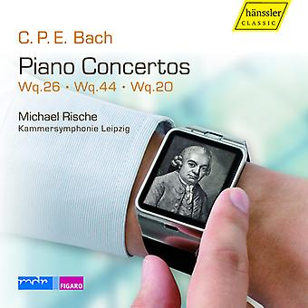 Bach, C.P.E. / Rische - Pianoconcertos [CD] USA import