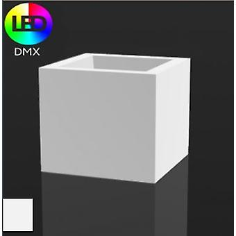 Vondom Flower pot cube 50x50x50 with ice light 41350w