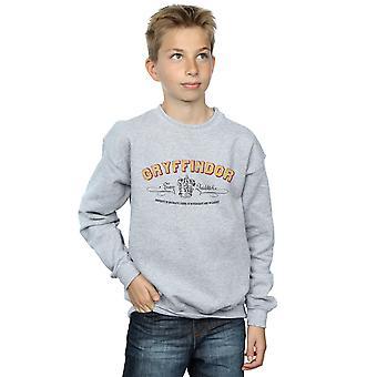 Harry Potter Boys Gryffindor Team Quidditch Sweatshirt