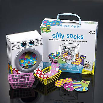 Chimp and Zee Silly Socks Game age 3+