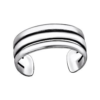Line - 925 Sterling Silver Toe Rings