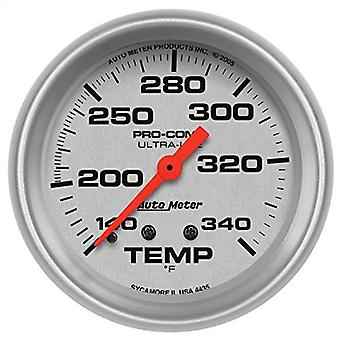 Auto Meter 4435 Ultra-Lite Mechanical Water Temperature Gauge