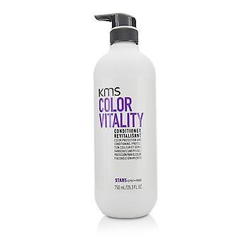 KMS California farve vitalitet Conditioner (farve beskyttelse og Conditioning) - 750ml/25,3 oz