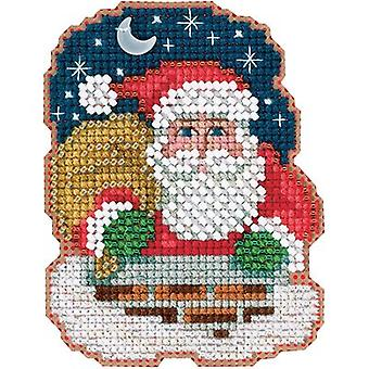 Down The Chimney Counted Cross Stitch Kit-2.5