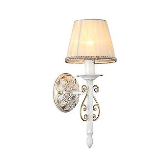 Maytoni Lighting Sunrise Elegant Collection Sconce, White Gold