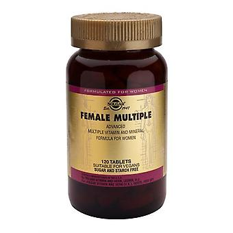Solgar, Female Multiple Tablets, 120