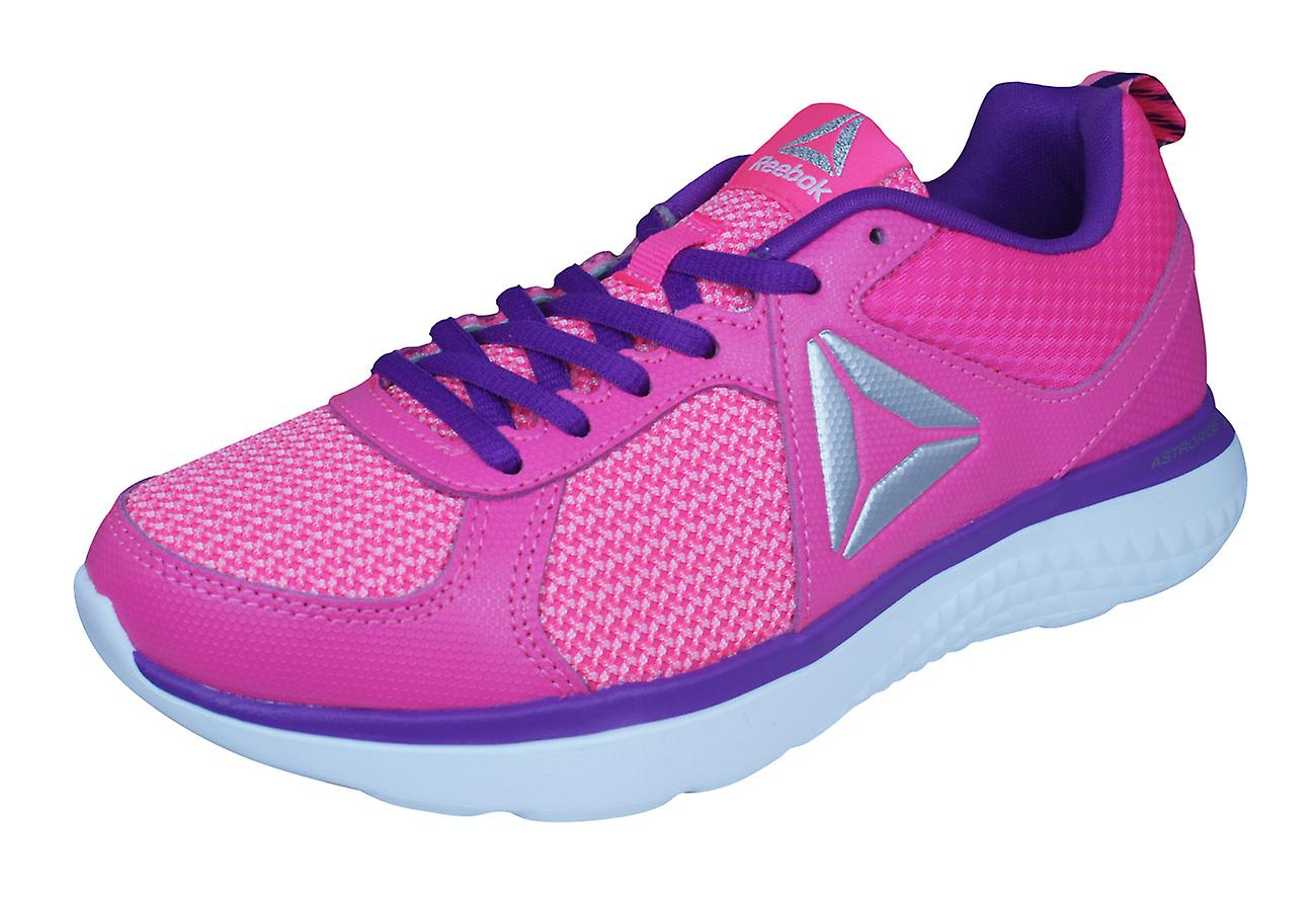 Reebok Astroride Girls Running Trainers / Shoes - Pink