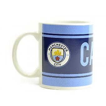 Manchester City FC Official Captain Mug