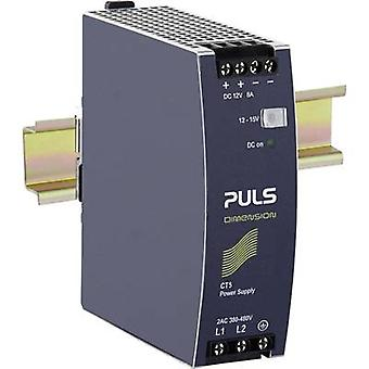 Rail mounted PSU (DIN) PULS DIMENSION CT5.121 12 Vdc 8 A 96 W 1 x