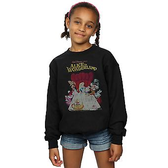 Disney meisjes Alice In Wonderland Retro Poster Sweatshirt