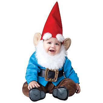 Lil' Garden Gnome Dwarf Elf Smurf Deluxe Toddler Boys Costume