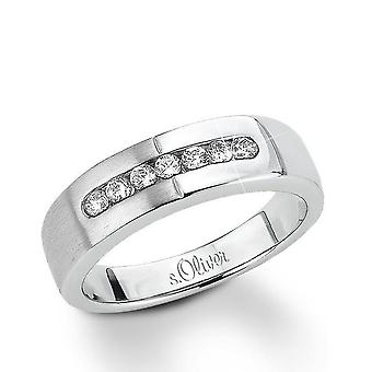 s.Oliver Jewel ladies ring silver Zirkonia SO626