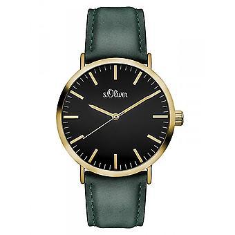 s.Oliver women's watch wristwatch leather SO-3201-LQ