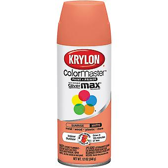 Colormaster Indoor/Outdoor Aerosol Paint 12oz-Sunrise