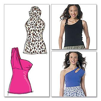 Misses' Tops-AX5 (4-6-8-10-12) -*SEWING PATTERN*