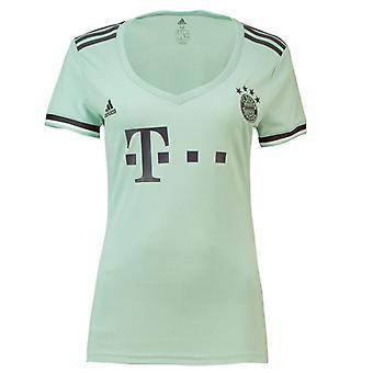 2018-2019 Bayern München Adidas bort Womens skjorta