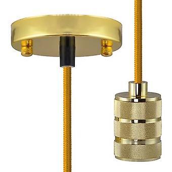Pendant light LED E27 Segula Pendelleuchte Chicago Gold 50565 Gold
