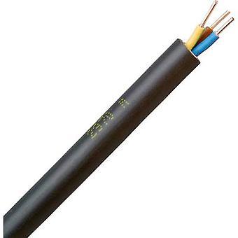 Kopp 153310045 Earth cable NYY-J 3 G 1.50 mm² Black 10 m
