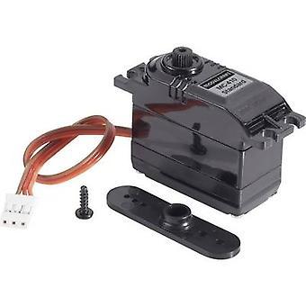Modelcraft Standard servo BMS-410C Analogue servo Gear box material Plastic Connector system JR