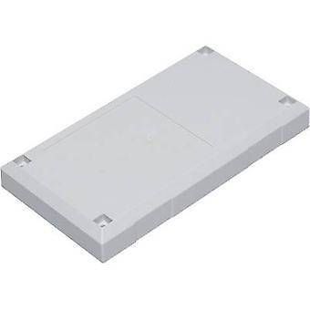Connector housing 125 x 67 x 50 Polycarbonate (PC), Acrylonitrile butadiene styrene Light grey Conrad Components ESU 12