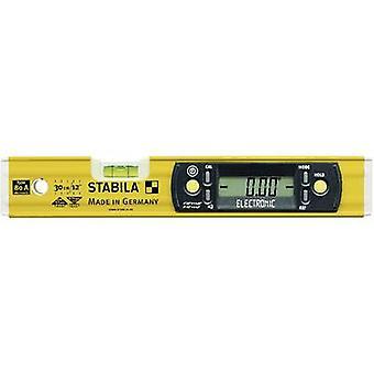 STABILA 80 A 17323 elettronico digitale calibrato livello 31,5 cm 0,5 mm/m: standard del produttore (non certificato)