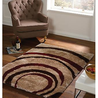 Velluto gocciolina rettangolo marrone rosso tappeti tappeti moderni