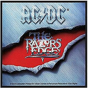 Ac/Dc Razors Edge Sew-On Cloth Patch