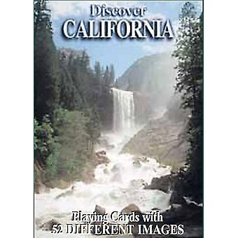 Discover California Set Of 52 Playing Cards + Jokers