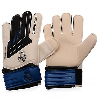 Real Madrid Goalkeeper Gloves Kids