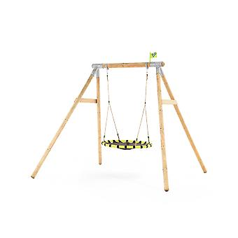 TP Himalayan Wooden Swing Set With Giant Nest Swing