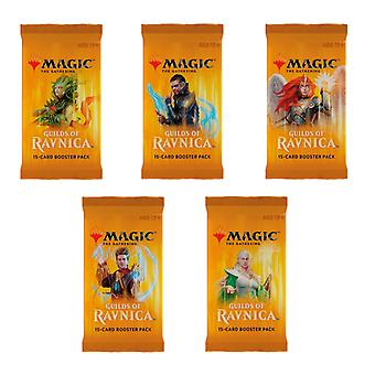 Magic The Gathering: Guilds of Ravnica Booster Pack 5-Pack