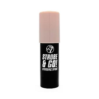 W7 Strobe & Go Strobing Stick- Pink Light