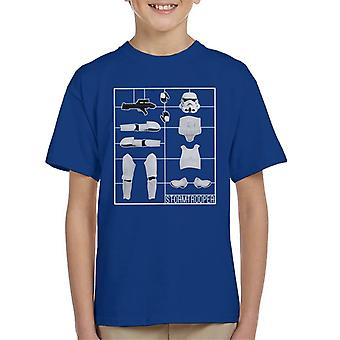 Originele Stormtrooper Airfix Kid's T-Shirt