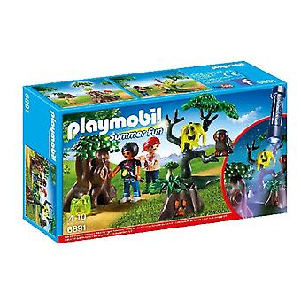Playmobil 6891 dropping + Lamp