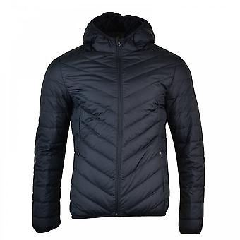 EA7 Mens Duck Down Quilted Jacket (Night)