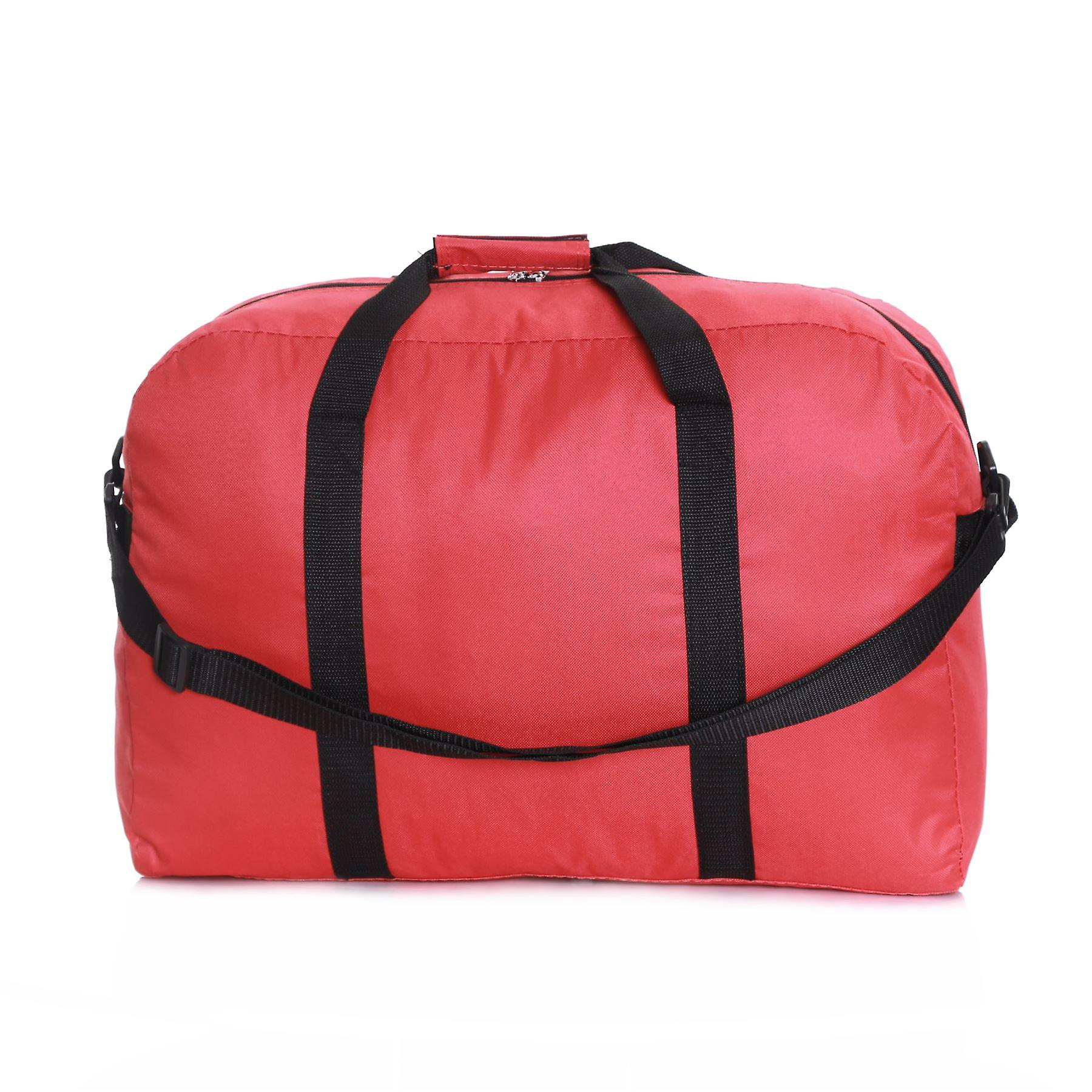Slimbridge Ryanair Set of 2 Cabin Bags, Red 55 x 40 x 20 cm and 35 x 20 x 20 cm
