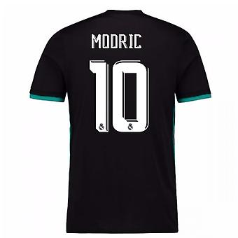 2017-18 Real Madrid Away Shirt (Modric 10)